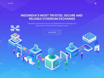 Indonesia's Ethereum Exchange Header Concept