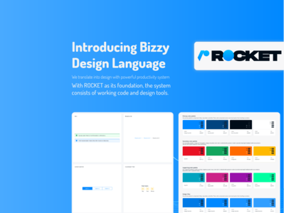 Rocket - Bizzy Design Language