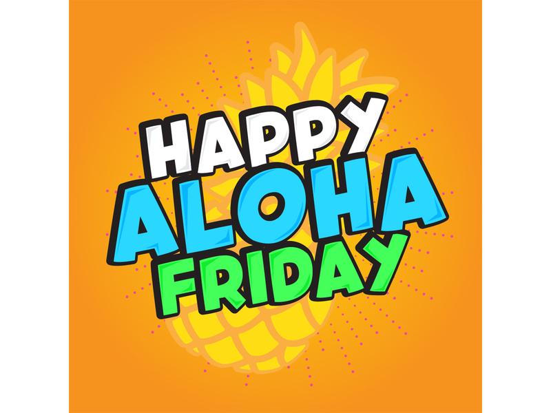 Aloha Friday 01
