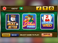 Video Poker for iPad