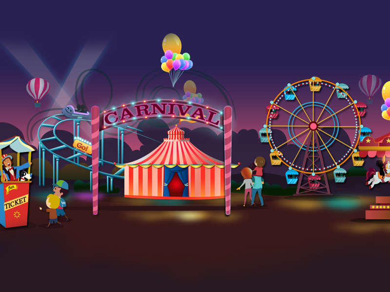 Carnival Theme By Sharad Mante On Dribbble