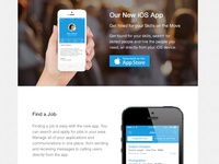 SkillPages iOS app launch email