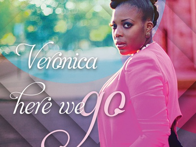 Veronica - Here We Go Album Cover spotify itunes record label album cover rb music