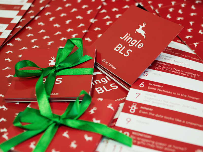 Christmas Cards 2014 by BLStream | Dribbble | Dribbble