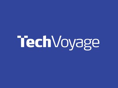 TechVoyage Logo Design