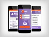 Recharge App Design