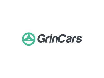 Grincars Logo Design