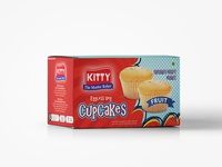 Kitty Bread Packaging   Cupcakes
