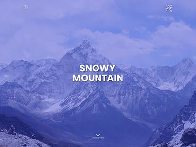 Snowy Mountain Web Design