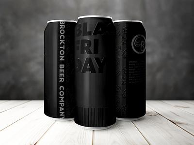 Brockton Beer Co. – Black Friday beer labels packaging branding label beer