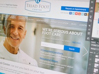 Triad Foot Center Homepage