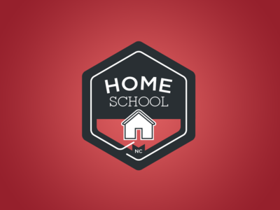 Homeschool home school logo rebound nc seal