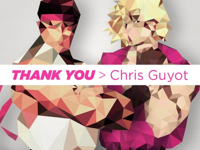 Thank you Chris Guyot for the invite! cubism streetfighter ryu ken invite debut design illustrator