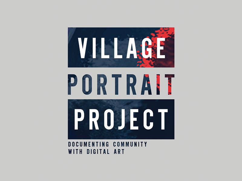Village Portrait Project - Logo
