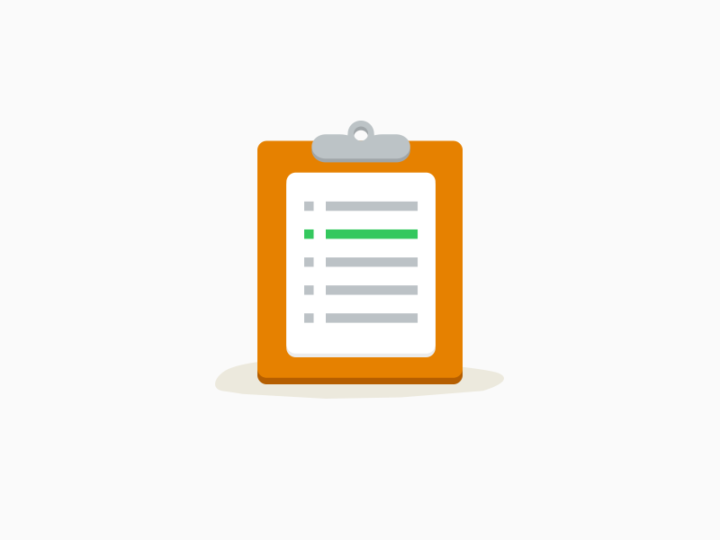 Flat clipboard icon flat icon flat icon task to-do todo checklist clipboard