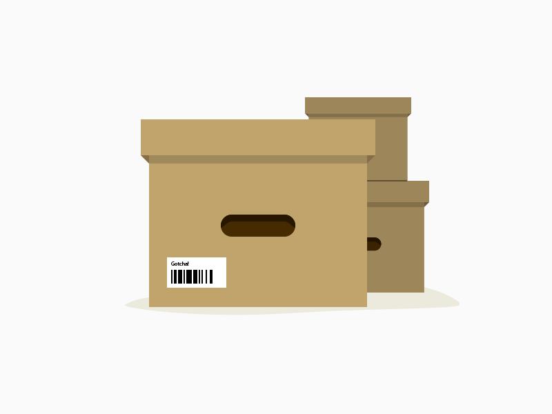 Boxes icon flat flat icon box boxes brown 404
