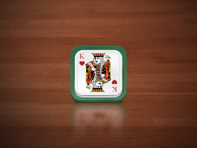 King game king play card game icon