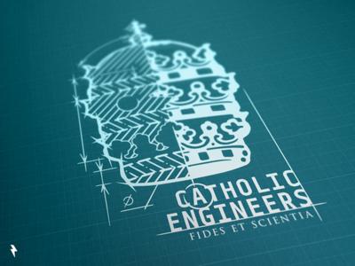 Catholic Engineers Main Logo