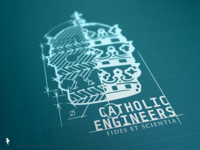 Catholic Engineers Main Logo