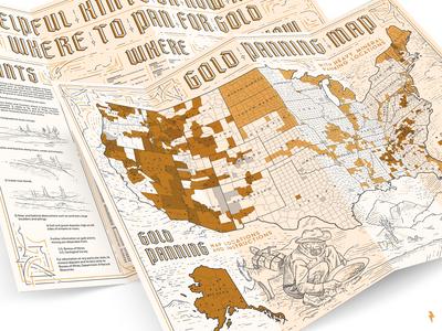 Gold Panning Map
