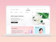 Cosmetics online shop