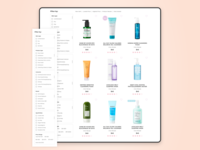 Online shop | Catalogue page
