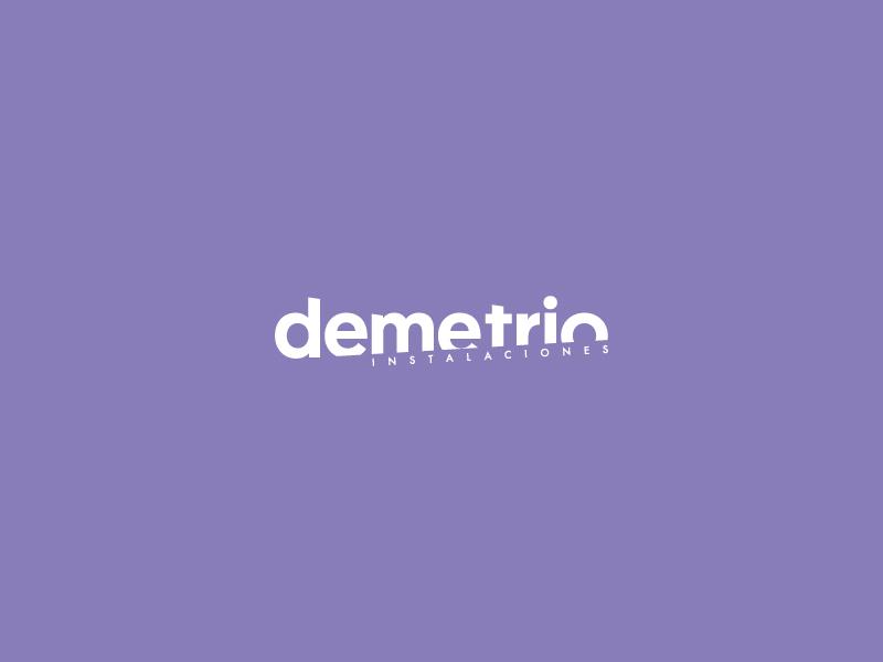 Demetrio Logo Concept demetrio brand logo