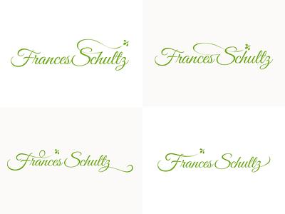 Frances Schultz - Identity Concepting rough concept design identity branding logo francesschultz schultz frances