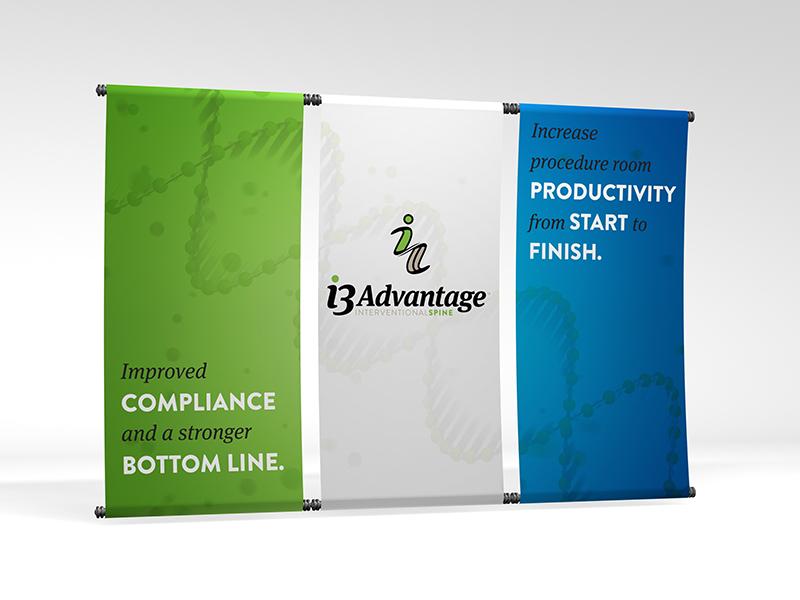 I3 Advantage Environmental Design booth design i3advantage summitimaging i3 environmental signage tradeshow banner