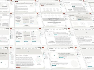 Strategic UI/UX user experience user interface strategic blueprint boards mechanicals strategy