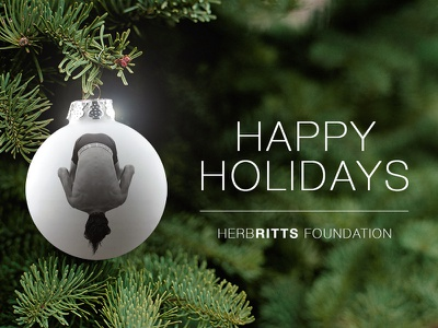 Happy Holidays card holiday photography herb ritts herb ritts herbritts