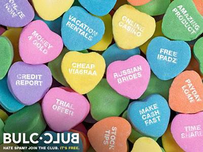 Bulc Club Valentine's Day Promotion spam prevention holiday valentine promotion promo
