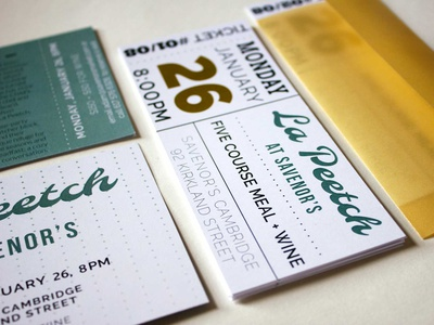 Savenor's La Peetch Branding identity graphic design