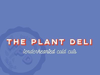 The Plant Deli Identity branding identity logo