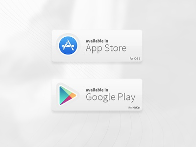 Badges google apple badge badges available google play apple store store