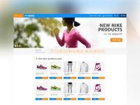 Sportwebshop search module 1