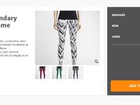 Sportwebshop product desc page