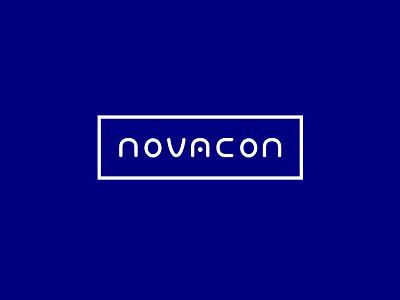 Logo concept blue brand concept logo