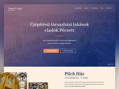Housing estate design art nouveau web design secession webdesign design vip