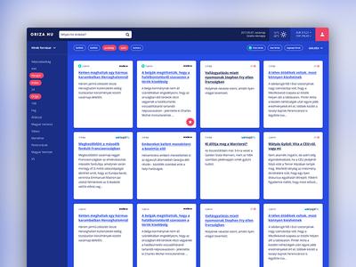 Newsportal design