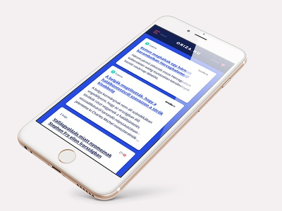 Newsportal design - mobile view design newportal news responsive responsive design webdesign ux ui sketchapp