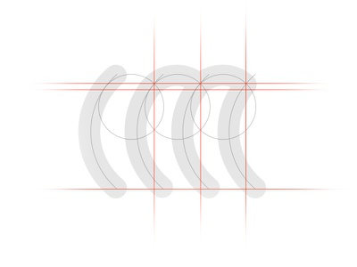 "Blueprint for ""IM"" symbole sketch symbole logo brand design blueprint"