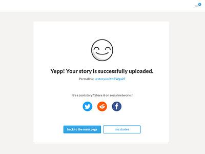 Happy Uploading webdesign ui ux design