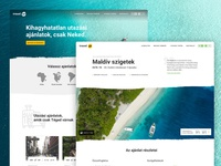 Travelgo - Website design