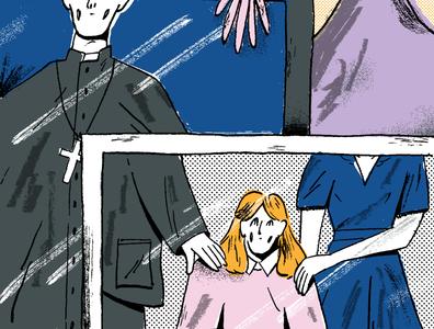 NYT Op-Ed art editorial illustration drawing texture illustration