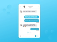 Direct Messaging - Day UI Challenge #013 -