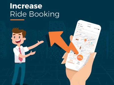 Increase Ride Booking