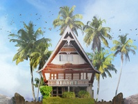 Batak. Indonesia. BUILD YOU OWN HOME From Around The World