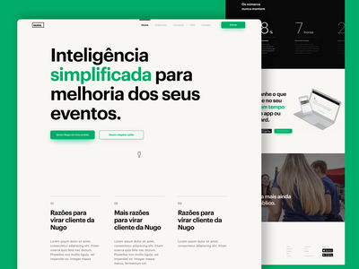 New landing page for Nugo
