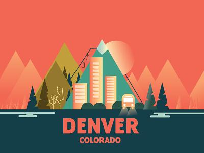 Cities vector design 2d illustration